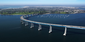Coronado Bay Bridge --- Image by © Ron Chapple/Corbis